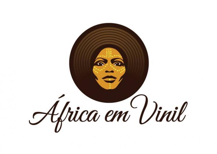 Ilustração  de África em Vinil - Djset Nélson Makossa