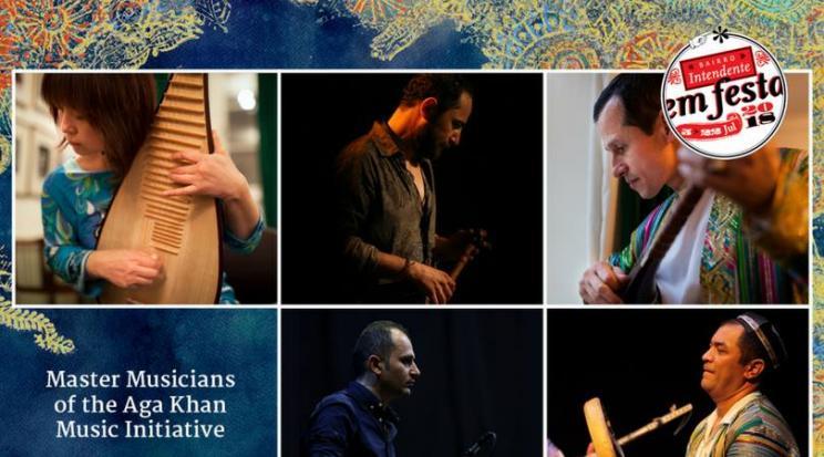AKMI MASTER MUSICIANS Concerto. 7 Jul. Sáb. 22h Bairro Intendente em Festa