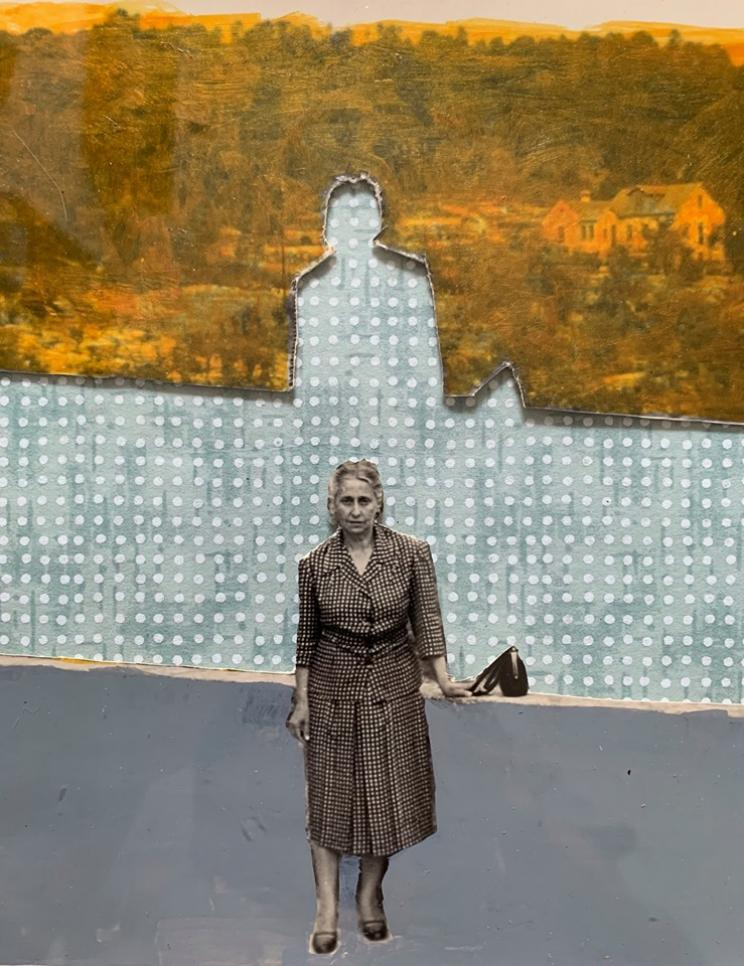 DIVIRTO-ME SOZINHA  exposição de Hilda Reis