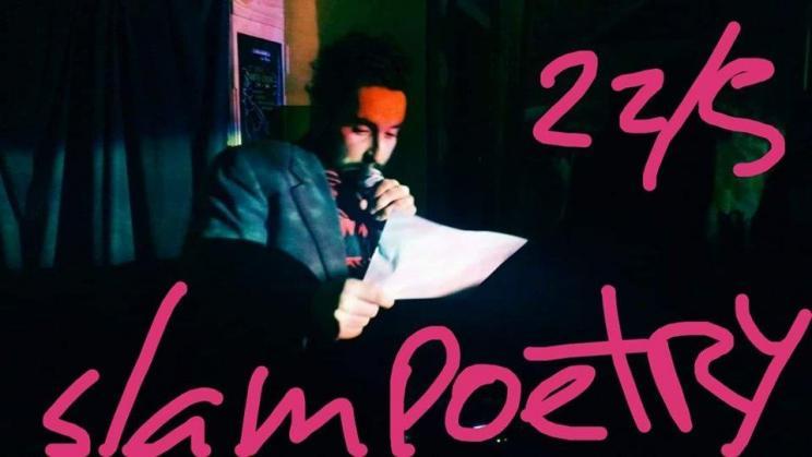 Marinho Pina em SLAM Poetry