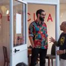 RÁDIO ESCUTA DJs Jérémie & Nelson Makossa Encerramento do Bairro Intendente em Festa 22 Julho. 22h às 00h LARGO Café Estúdio