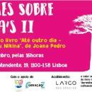 OLHARES SOBRE ÁFRICA'S II Lançamento do Livro de Joana Pedro 17 Nov. Sáb. 16h