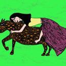 Dentro do coração de Márcia Lança / Ilustração de Gonçalo Antunes